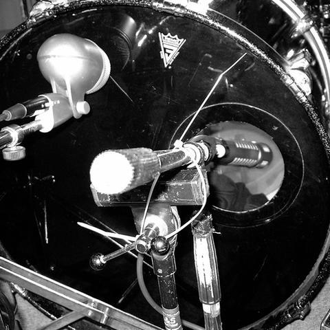 Bassdrum Mikrofonierung