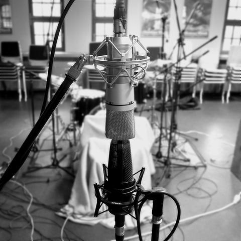 M/S-Raummikrofonierung für Drumset