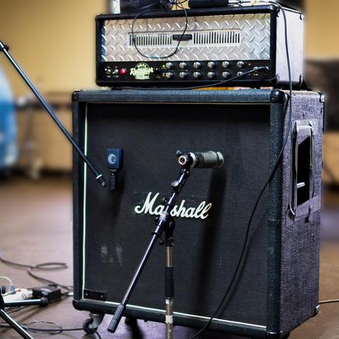Recording mit Teenagerules 2015: Gitarrenamp und Mikrofonierung