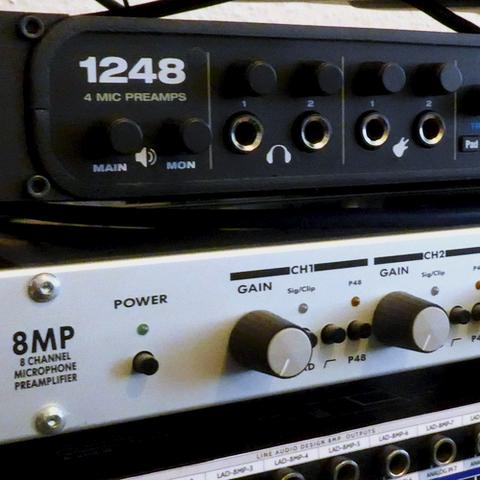 Recording-Interface: Motu 1248 AVB
