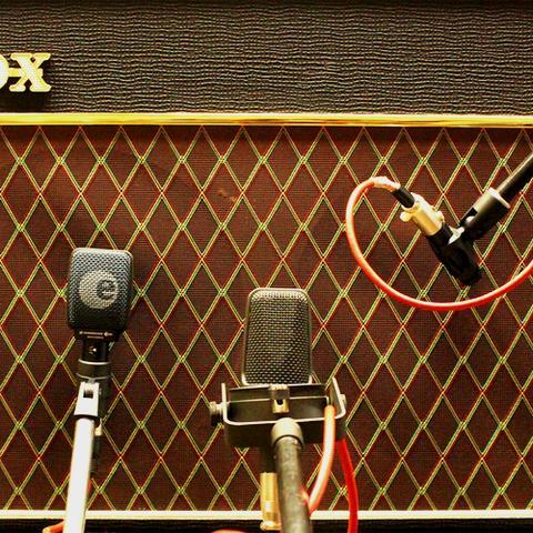 Gitarren-Aufnahme